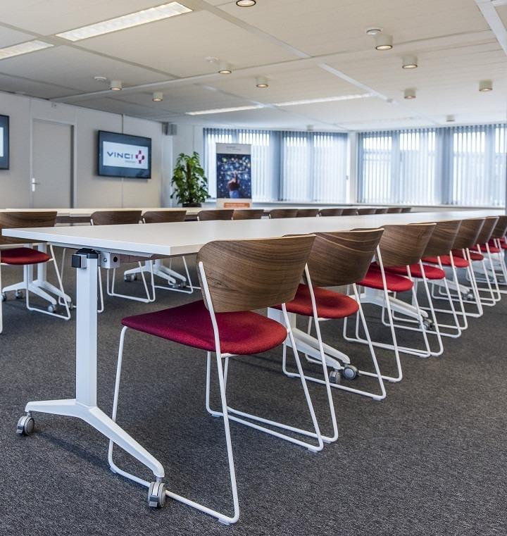 Opklapbare tafel mkl havic kantoormeubelen for Opklapbare tafel