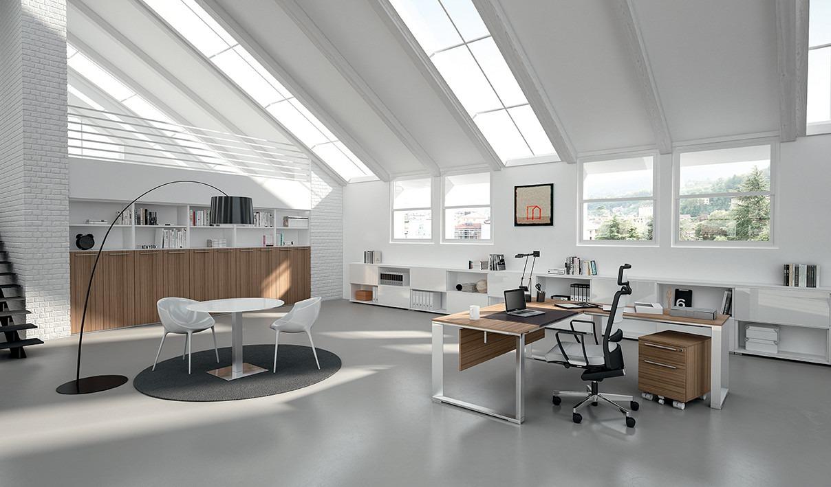 Manager bureau vert ringpoot havic kantoormeubelen for Office design arredo ufficio