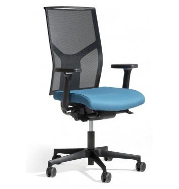 Ergonomische bureaustoel Fin (zwart)