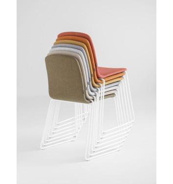 Hann gestoffeerde stoel (ringpoot)