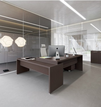 Manager bureau Jork met lage aanbouwtafel