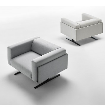 Murs fauteuil grijs